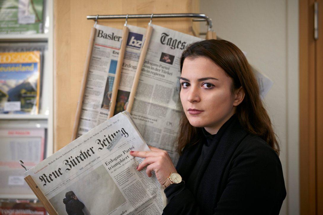 Fatjona Haziri hat erst in der Primarschule Deutsch gelernt. Jetzt studiert sie parallel zum Gymnasium Wirtschaftswissenschaften an der Universität Basel.