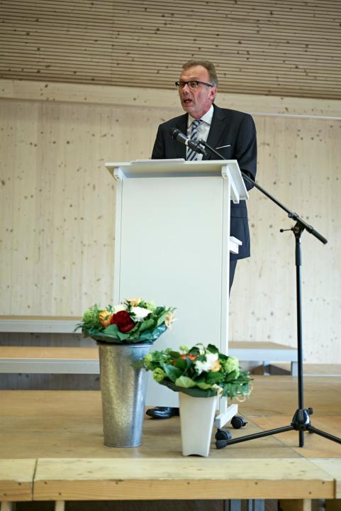 Festredner Hans Georg Signer