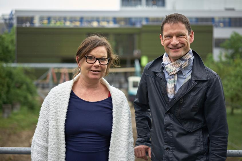 Carolin Steiner und Christian Vaterlaus (Foto: Nu)