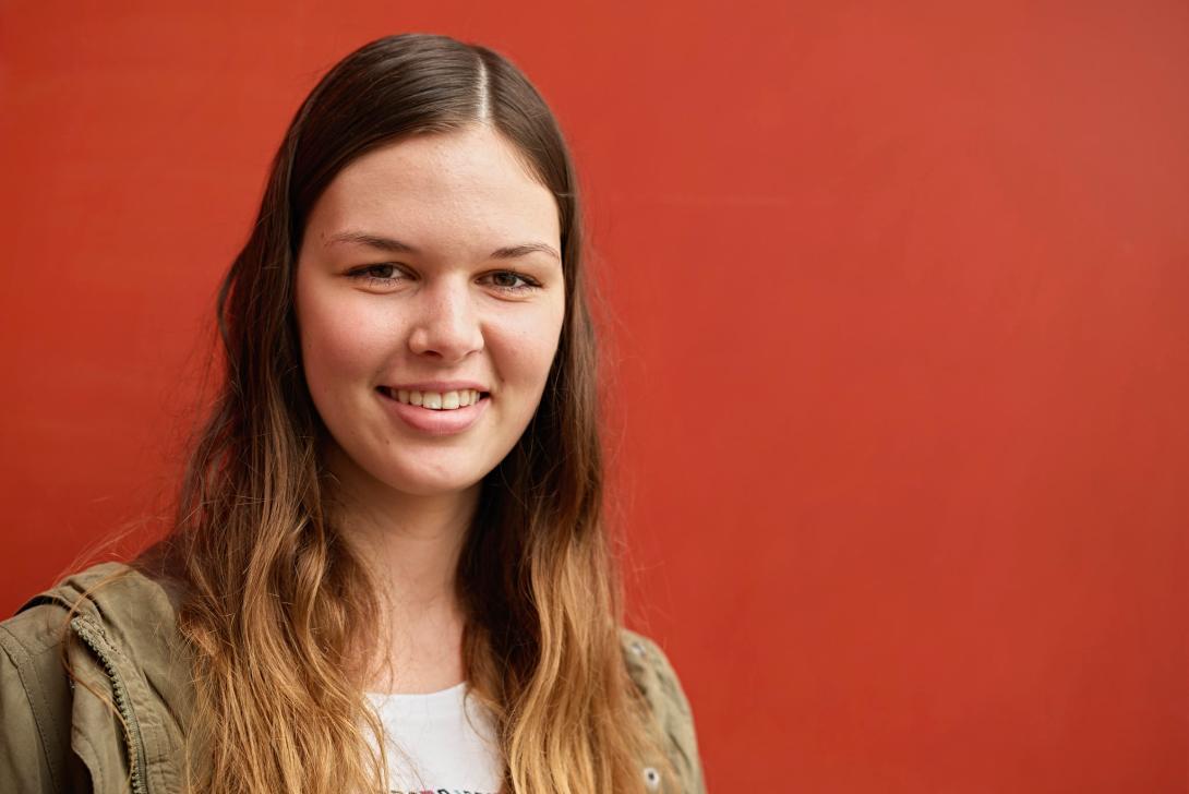 Rebecca Amstad (Foto: Nu)