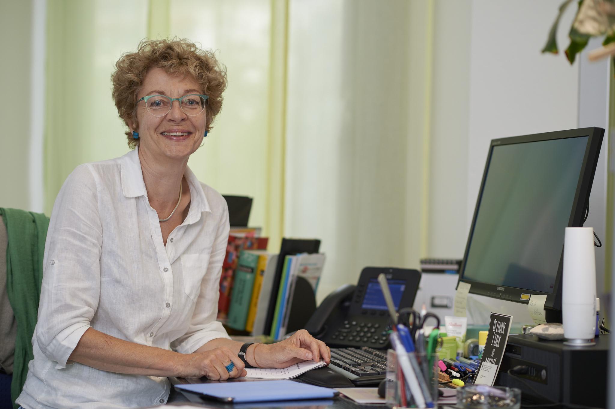 Brigitte Jäggi, Rektorin (Foto: Nu)