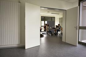 Offene Lernräume im ersten Stock