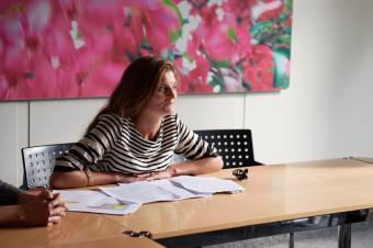 Noëmi Schwank koordiniert die Zusammenarbeit des Orchesters mit den Lehrpersonen