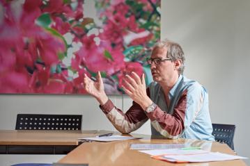 Chorleiter Christoph Huldi hat die gemeinsamen Projekte mitinitiiert