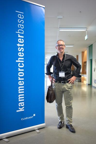 Marcel Falk, Geschäftsführer des Kammerorchesters Basel