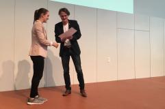 ...und erhält einen Preis für den dritten Rang des BCN-Awards