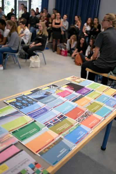 Information und Präsentation der Studienrichtungen