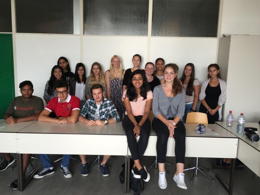 Die Klasse 3Ba