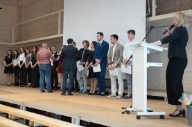 ...Alexandra Guski, der neuen Rektorin der FMS Basel.