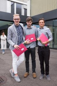 Die drei jungen Männer...