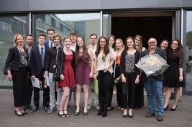 Die Basler FMS-Absolventinnen...