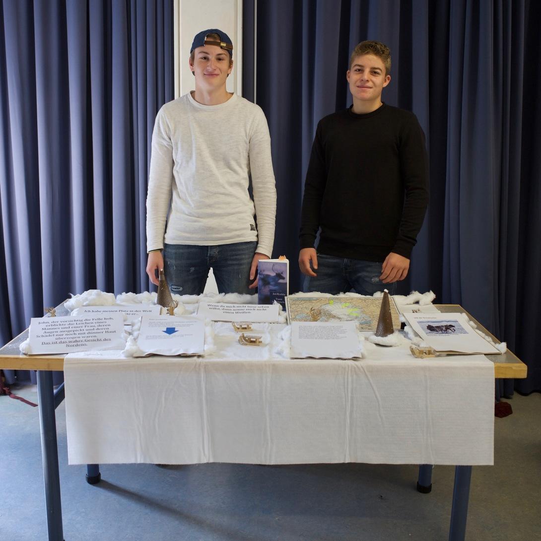 Silvan und Lucas mit Juri Rytchëu: Traum im Polarnebel