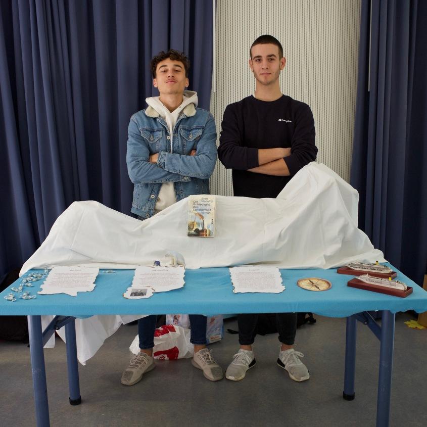 Luciano und Michel mit Sten Nadolny: Die Entdeckung der Langsamkeit