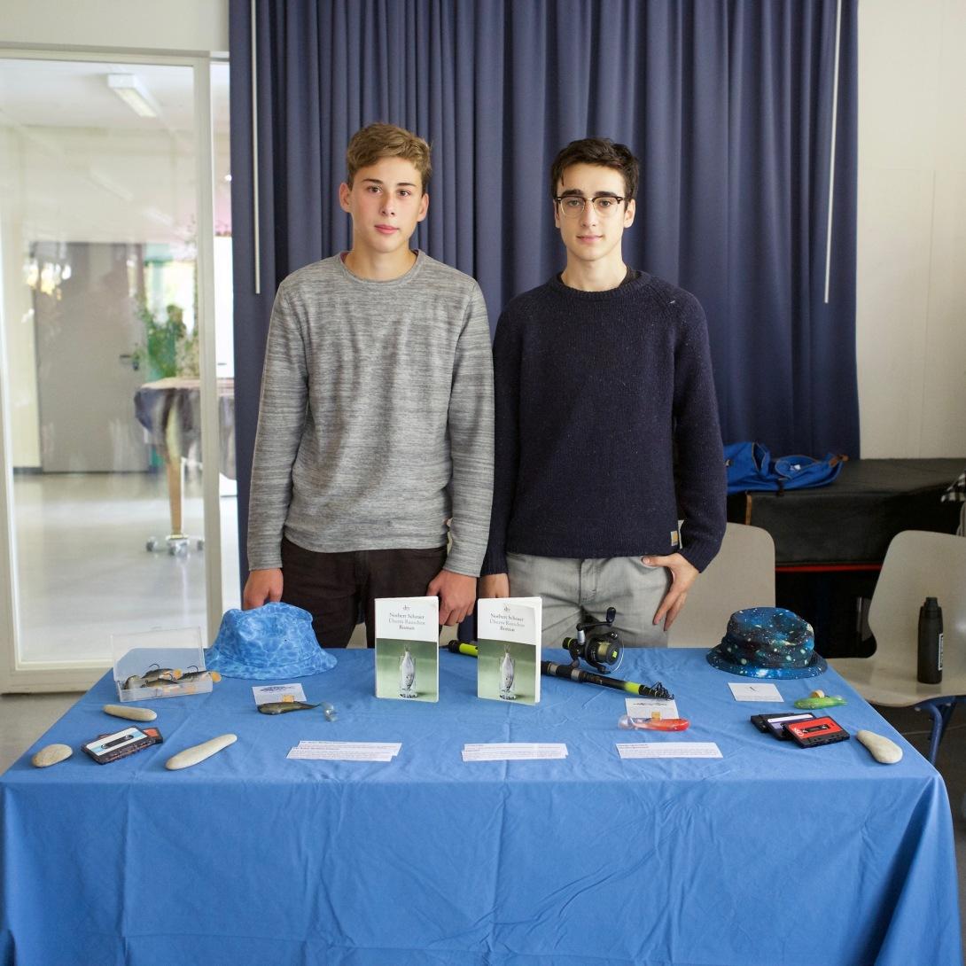Leonardo und David mit Norbert Scheuer: Überm Rauschen