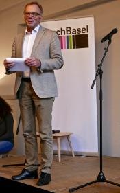 Moderator Hans-Georg Signer
