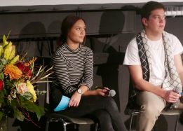 Celine Roskosch und Jakob Brudsche