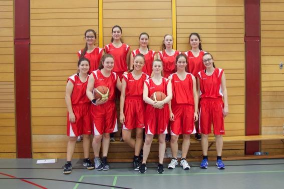 Damenteam Muttenz - Platz 2