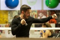 Gut trainiert und fokussiert (Diego)