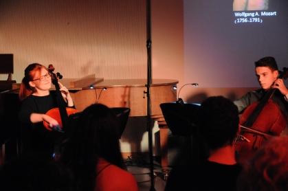 Stefanie Siebenmann und Pascal Müller spielen drei Duette von Wolfgang A. Mozart