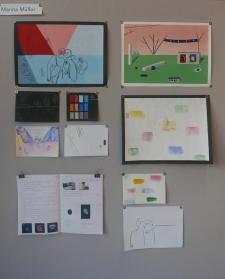 Skizzen und Umsetzungen von Marina Müller