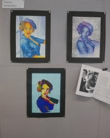 Malerische Umsetzungen von Hanna Schlachter