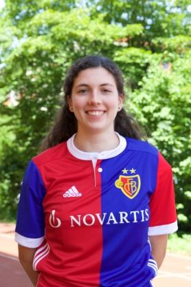 Platz 1 - Zoe Menzinger. FCB-Dress Saison 17/18
