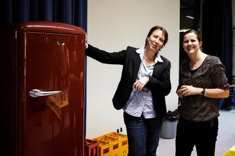 Luzia Guyer (rechts) engagiert sich im Vorstand. Yvonne Schönholzer organisiert und hilft überall.