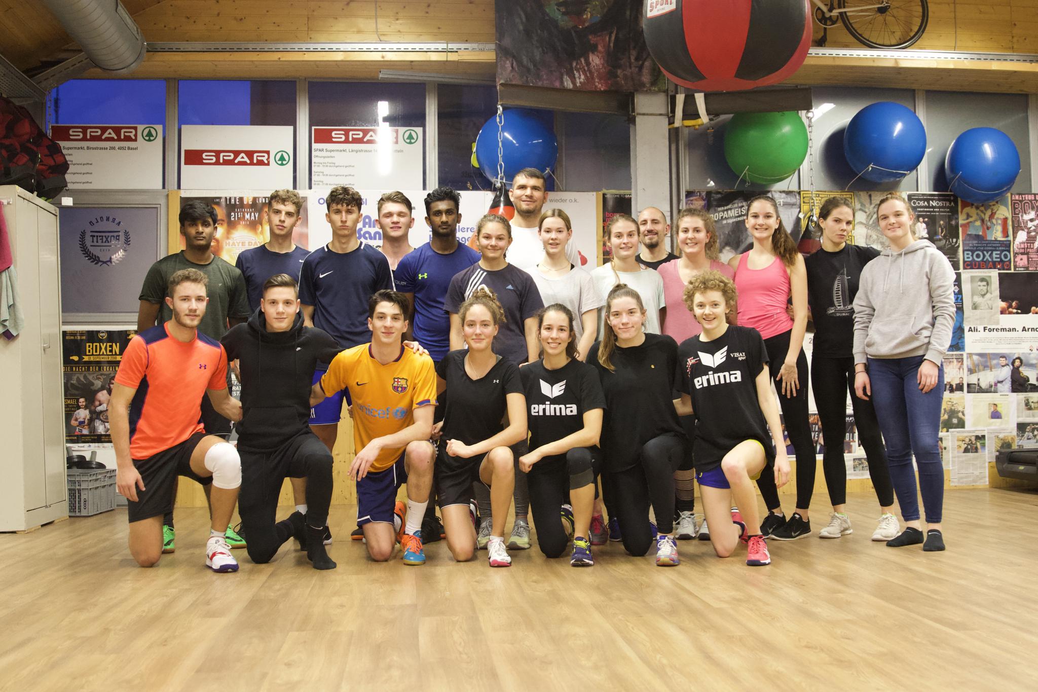 Das EF Sport mit Arnold the Cobra Gjergjaj