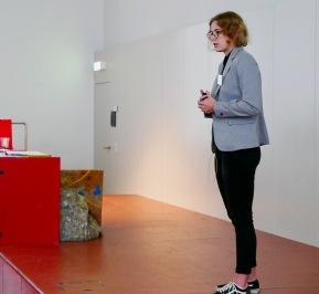 Anja Hunziker präsentiert ihre MA