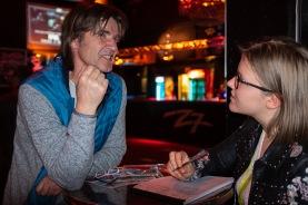 Stefan Schraudolf, der Vater der Rocknacht, im Gespräch mit Eva Oberli