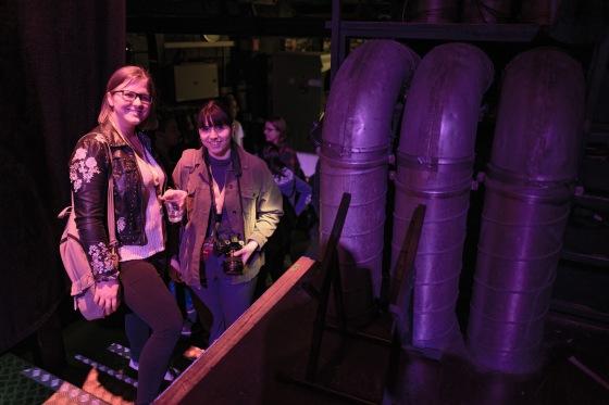 Die Schreiberin Eva Oberli und die Fotografin Gina Pelosi