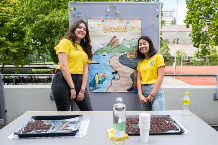 Leckere Kekse und das schönste Plakat (2) aus Brasilien!