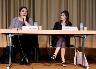 Samira Marti (SP BL) und Marion Pfister (CVP AG)