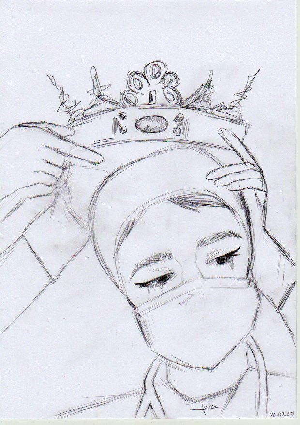 Schwester Corona, von Amine Calik